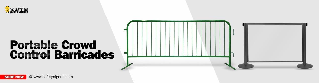 Portable Crowd Control Barricades