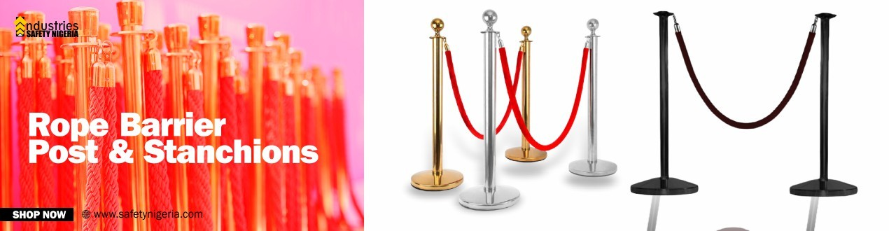 Rope Barrier Post & Stanchions