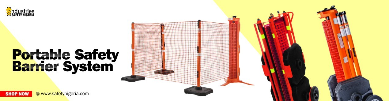 Portable Safety Barrier System