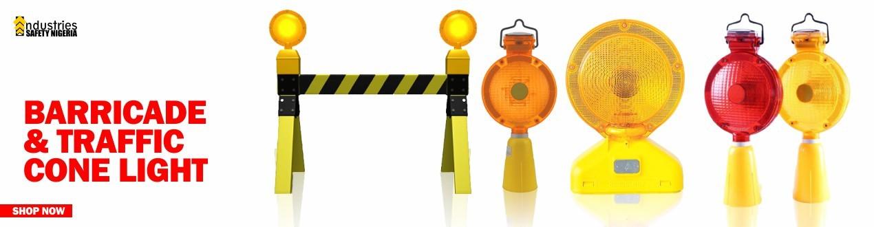 Barricade & Traffic Cone Light
