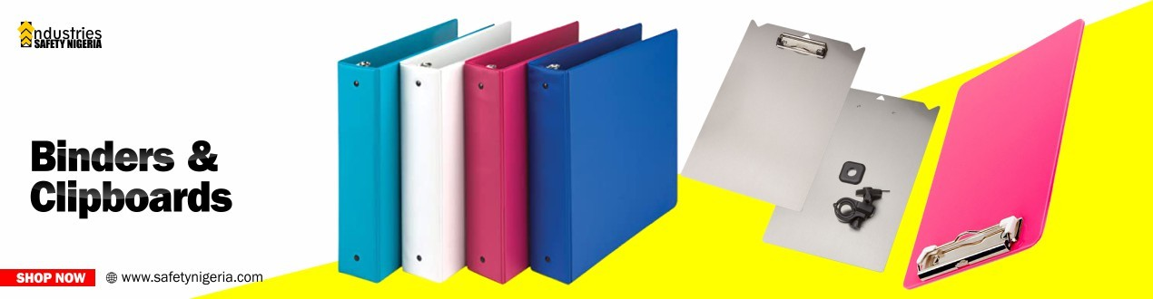 Binders and Clipboards