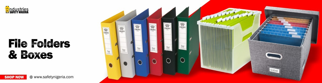 File Folders and Boxes
