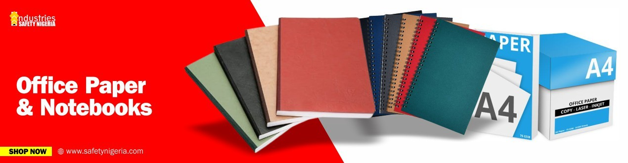 Office Paper and Notebooks