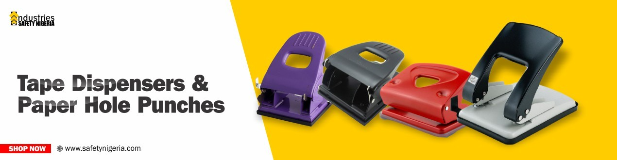 Tape Dispensers & Paper Hole Punches