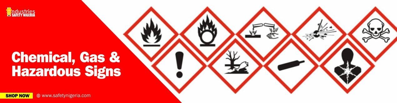 Chemical, Gas & Hazardous Signs