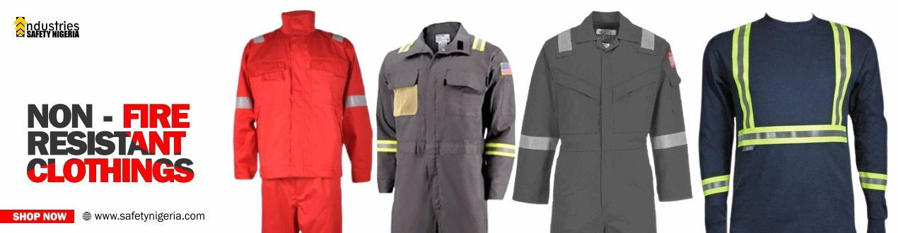 Non - Fire Resistant Clothings