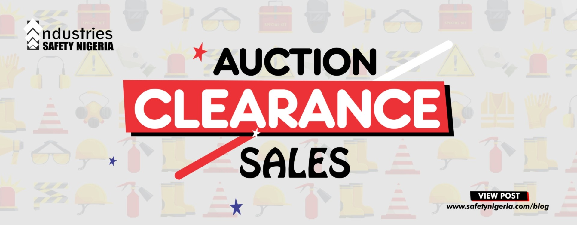 Auction/Clearance Sales