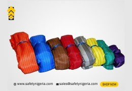 Overview of Round Webbing Lifting Belt and colour coding